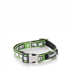 Envy - obojek VIP 10 mm, zelený