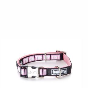Envy - obojek VIP 10 mm, růžový