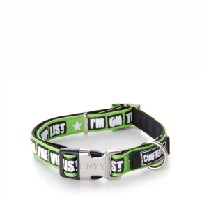 Envy - obojek VIP 15 mm, zelený