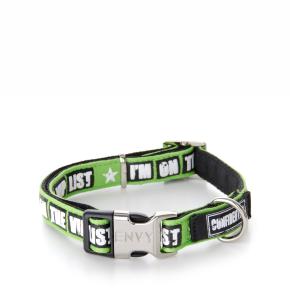 Envy - obojek VIP 20 mm, zelený