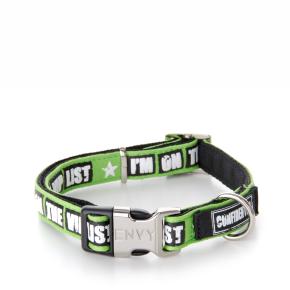 Envy - obojek VIP 25 mm, zelený