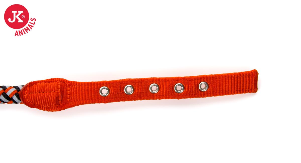 JK ANIMALS Provazový obojek Comfort oranžový | © copyright jk animals, všechna práva vyhrazena