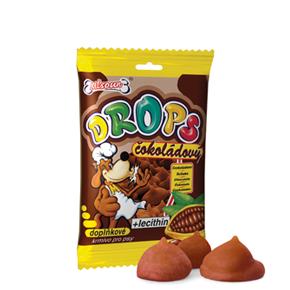 Drops čokoládový 75g, pamlsek