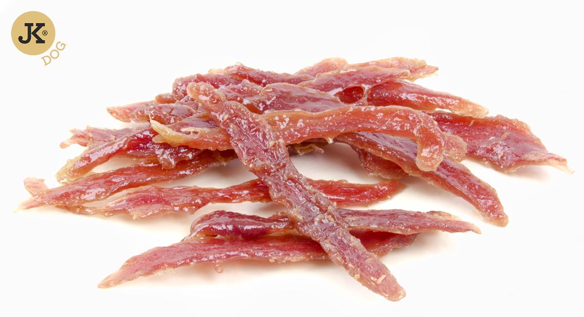 JK DOG MEAT SNACK 100 % DUCK - 100% přírodní masová kachní pochoutka 80g | © copyright jk animals, všechna práva vyhrazena