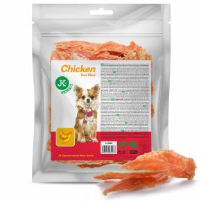 Meat Snack 100 % Chicken, 100% sušené kuřecí maso, masový pamlsek, 500g