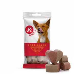 Soft Snack – duo srdíčka, polovlhký pamlsek 70g