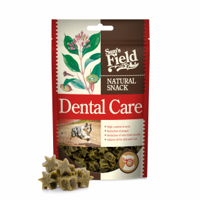 Sams Field Natural Snack Dental Care, funkční masový polovlhký pamlsek 200 g (Sam's Field)
