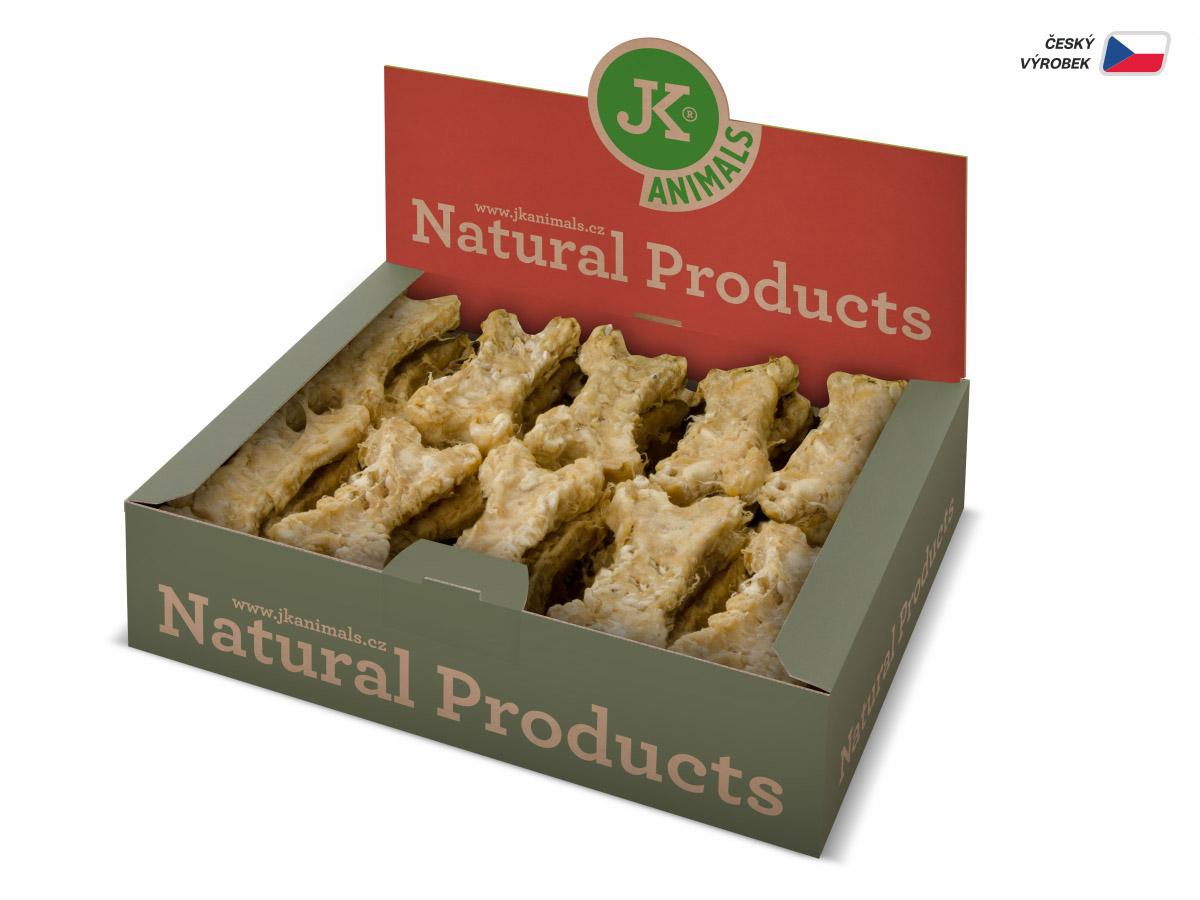 JK ANIMALS Kost Natural - Odour Control s Yuccou, 10 cm/27 ks | © copyright jk animals, všechna práva vyhrazena
