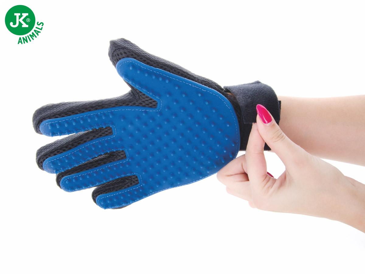 JK ANIMALS Gumová vyčesávací masážní rukavice   © copyright jk animals, všechna práva vyhrazena