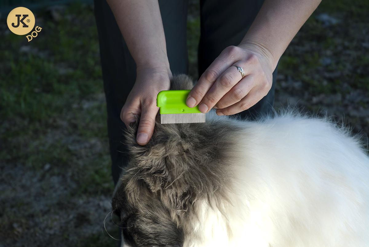 JK ANIMALS Kartáč 3v1, jemné drátky a dva hřebeny | © copyright jk animals, všechna práva vyhrazena