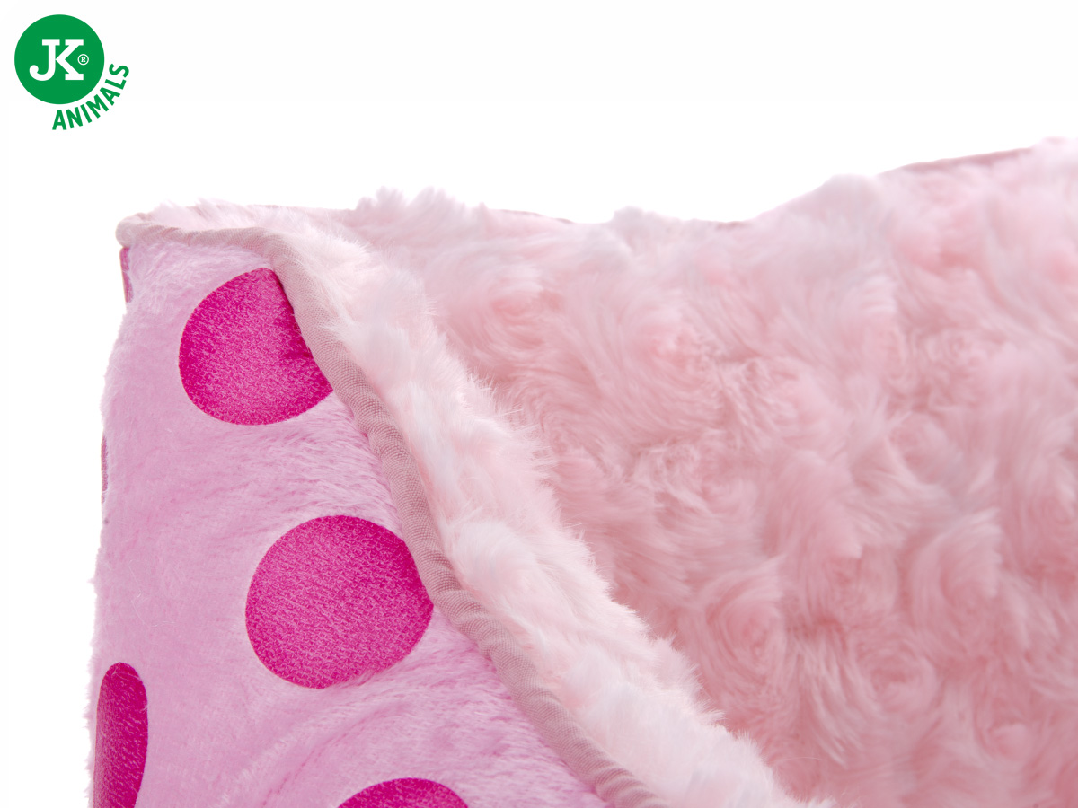 JK ANIMALS Pelíšek Puppy M růžový | © copyright jk animals, všechna práva vyhrazena