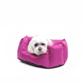 Pelíšek + poduška LUX č. 1 růžový