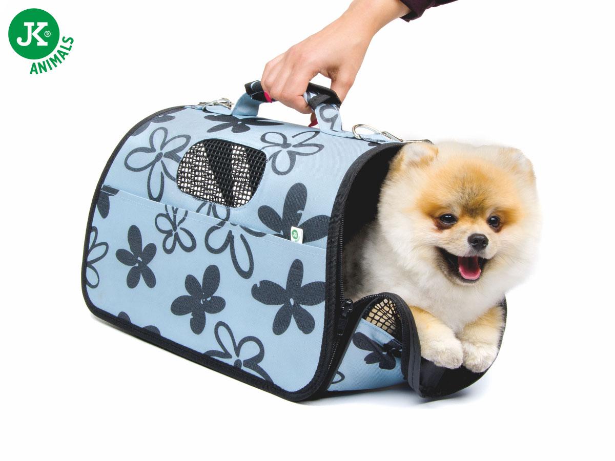 JK ANIMALS Cestovní taška Flower S   © copyright jk animals, všechna práva vyhrazena