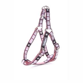 Envy - postroj VIP 10 mm, růžový