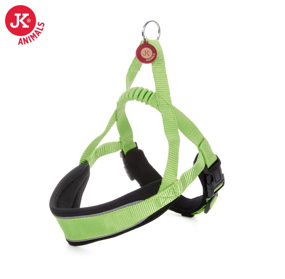 JK ANIMALS Postroj Comfort zelený | © copyright jk animals, všechna práva vyhrazena
