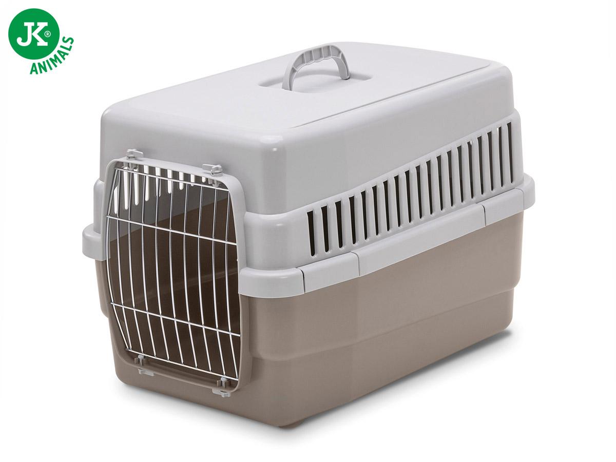 JK ANIMALS plastová přepravka CARRY 60 hnědá | © copyright jk animals, všechna práva vyhrazena