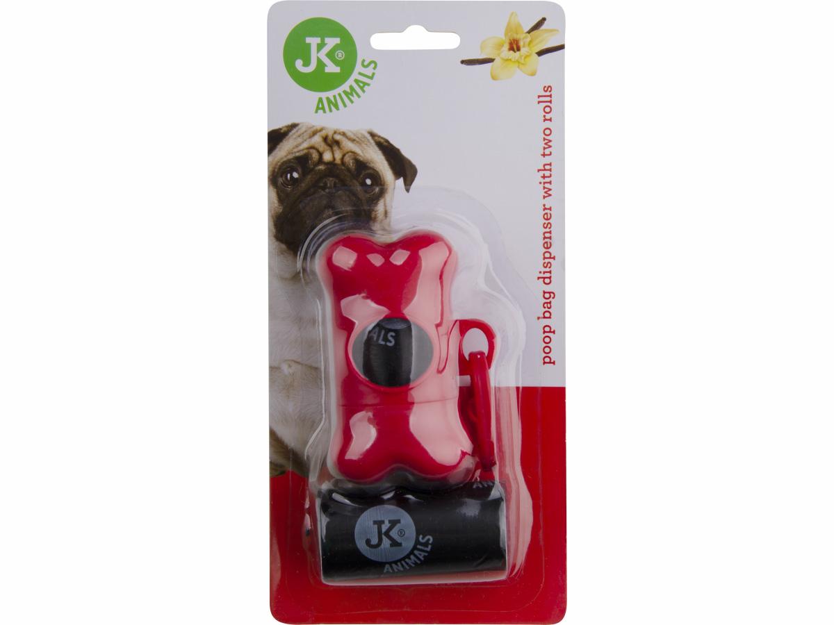 JK ANIMALS Plastový zásobník na sáčky pro psí exkrementy | © copyright jk animals, všechna práva vyhrazena
