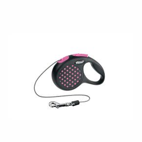 flexi Design Cord (lanko), velikost XS, růžová