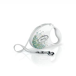 flexi Glam Splash Leaf Tape (pásek), velikost S, bílá