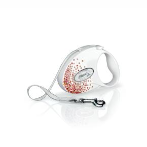 flexi Glam Splash Orient Tape (pásek), velikost S, bílá
