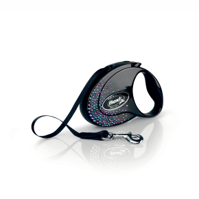 flexi Glam Splash Mystic Tape (pásek), velikost S, černá