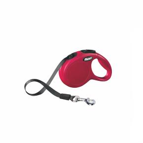 flexi New Classic Tape (pásek), velikost XS, červená