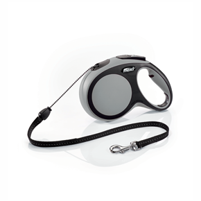 flexi New Comfort Cord (lanko), velikost M, šedá