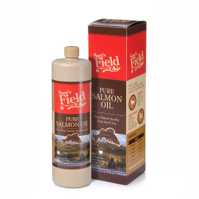 Sams Field Pure Salmon Oil, lososový olej 750 ml (Sam's Field)