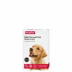 Beaphar - Diaz Flea & Tick collar for dogs, antiparazitní obojek pro psy 65 cm