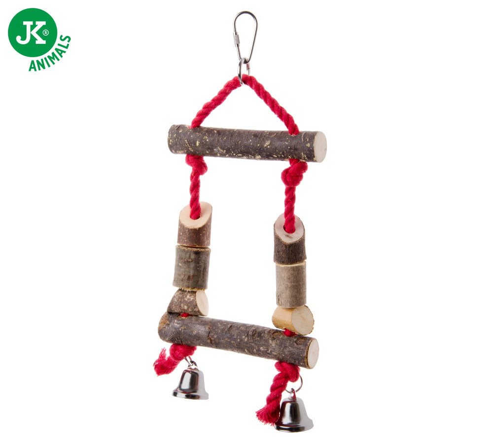JK ANIMALS Ptačí dřevěná houpačka   © copyright jk animals, všechna práva vyhrazena