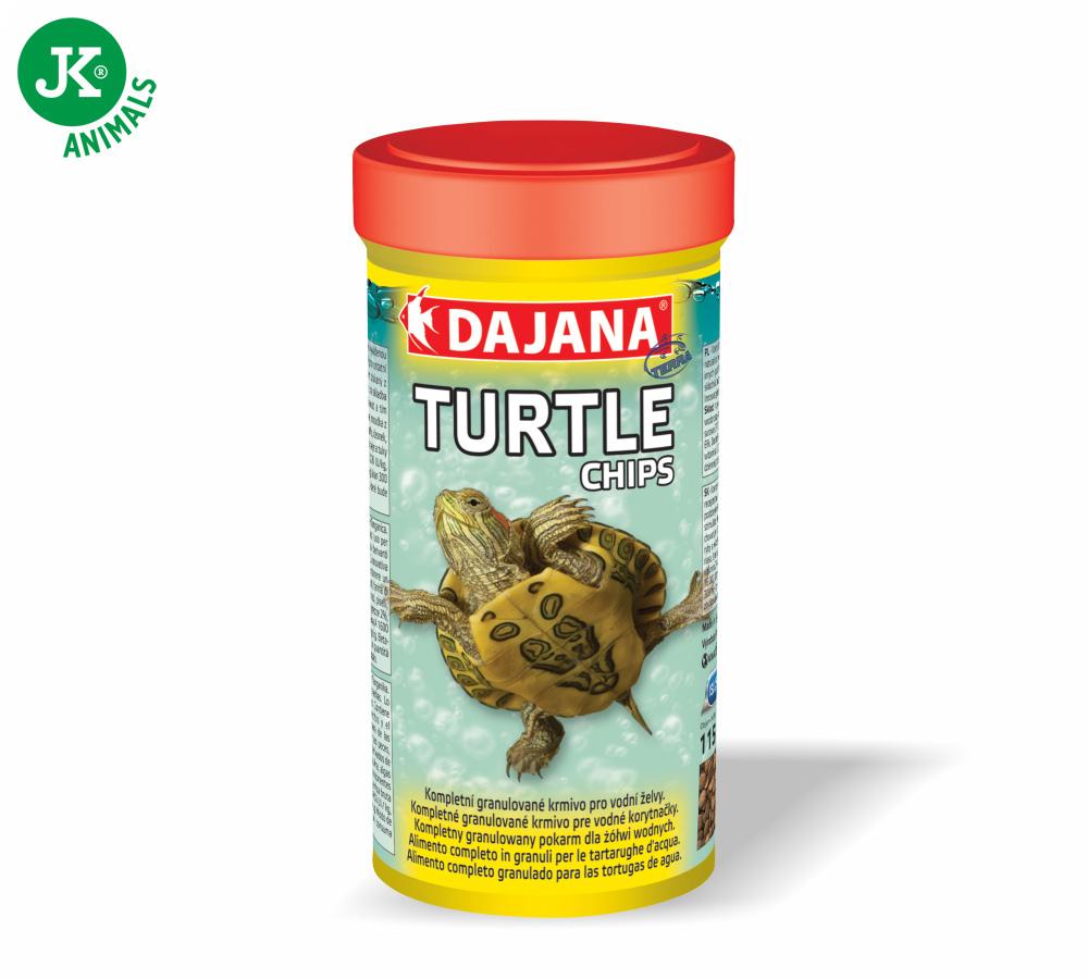 Dajana Turtle chips 250ml vodní želva | © copyright jk animals, všechna práva vyhrazena