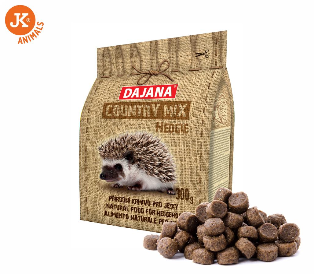 Dajana – COUNTRY MIX, Hedgie (ježek) 300g | © copyright jk animals, všechna práva vyhrazena