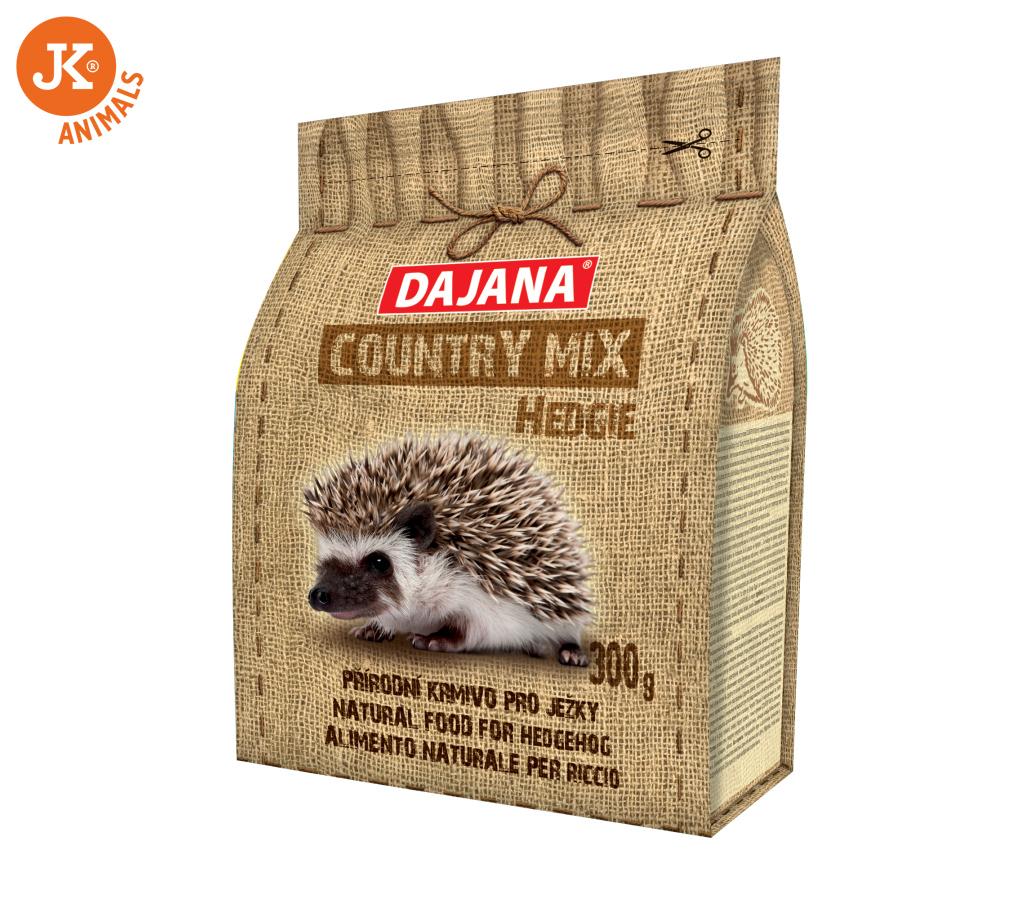 Dajana – COUNTRY MIX, Hedgie (ježek) 300g   © copyright jk animals, všechna práva vyhrazena