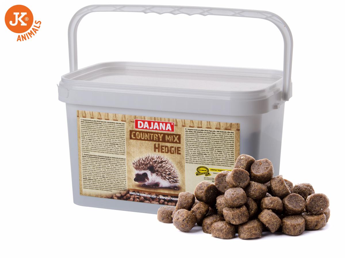 Dajana – COUNTRY MIX, Hedgie (ježek) 3l/1500g | © copyright jk animals, všechna práva vyhrazena